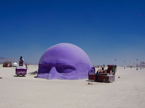 Is Social Media like Burning Man?