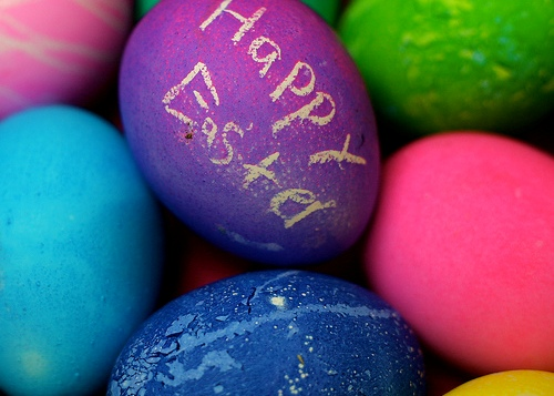 Success is like a basket of easter eggs