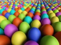 identical easter eggs